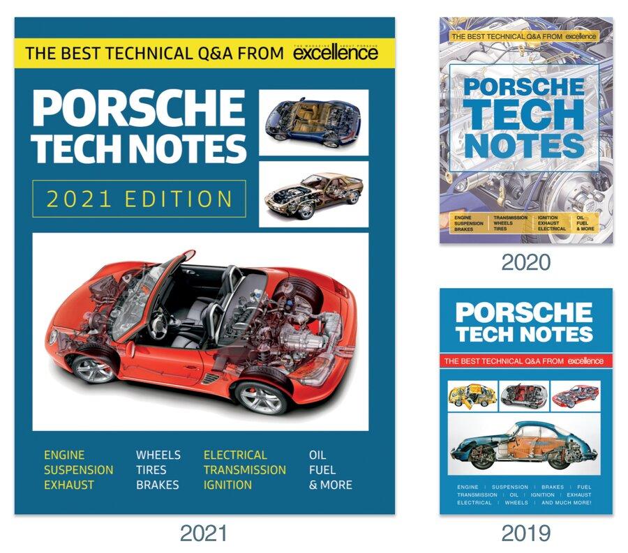 All Three Porsche Tech Notes