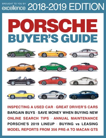 2018-2019 Porsche Buyer's Guide