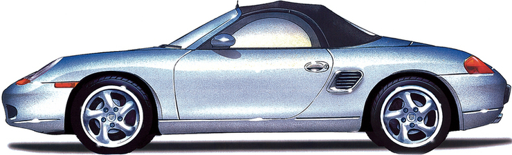 1997 Boxster (986)