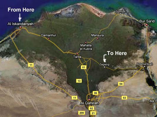 Zagazig DavisHuntercom - Map of zagazig egypt