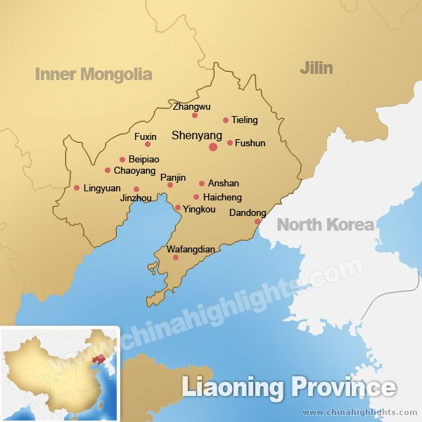 Liaoning DavisHuntercom - Haicheng map