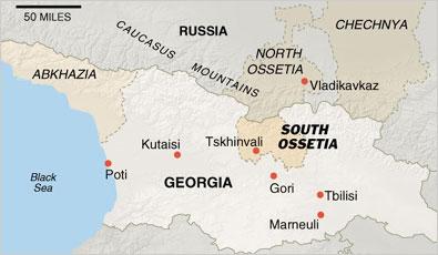 Abkhazia DavisHuntercom - Abkhazia map black sea