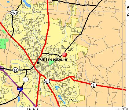 what county is murfreesboro tn in