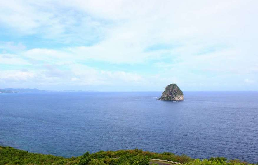 actvite Viewpoint of the Diamond Rock Martinique