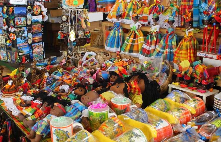 actvite Le marché couvert de Fort-de-France Martinique