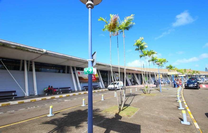 actvite Aéroport Aimé Césaire Martinique
