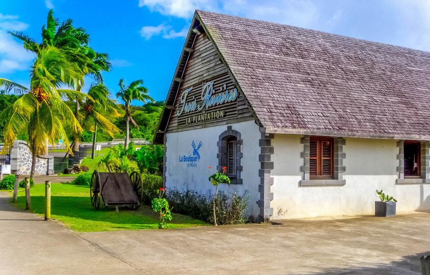 actvite The Trois Rivières plantation Martinique