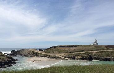 actvite La Pointe des Poulains et Sarah Bernhardt à Belle Ile en Mer Bretagne Sud