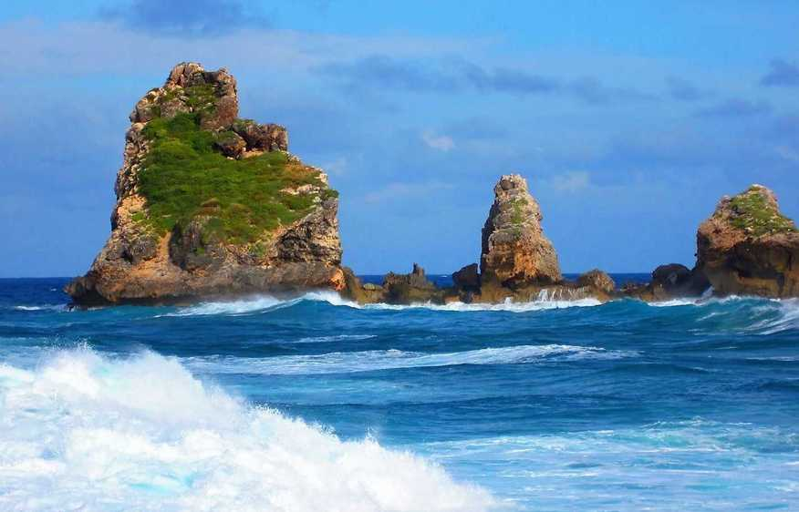 actvite Pointe des Châteaux  Guadeloupe