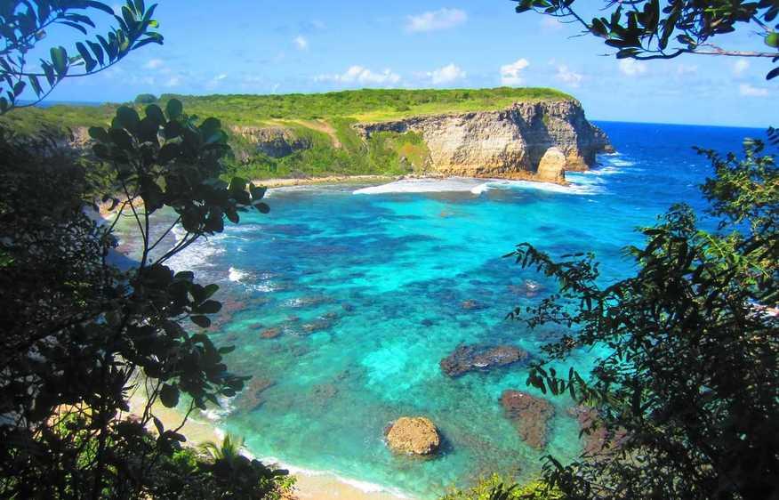 actvite Porte d'Enfer Moule  Guadeloupe