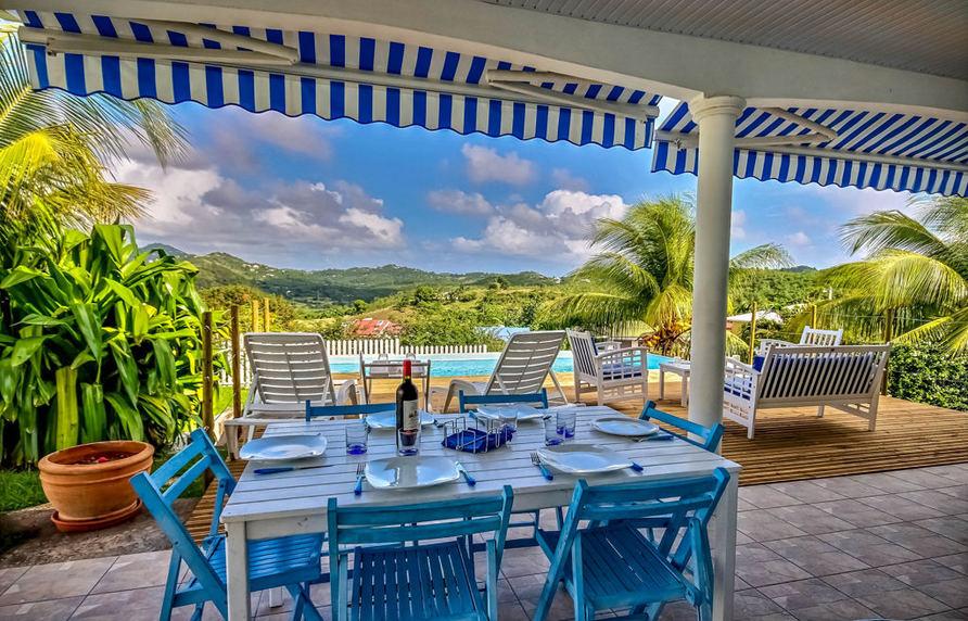 location vacances villa turquoise martinique saint anne. Black Bedroom Furniture Sets. Home Design Ideas
