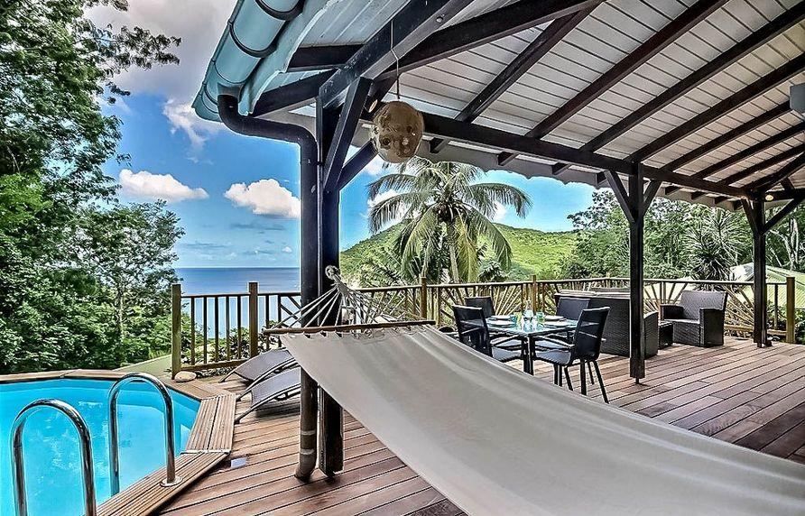 location Villa Alizés Deshaies Guadeloupe