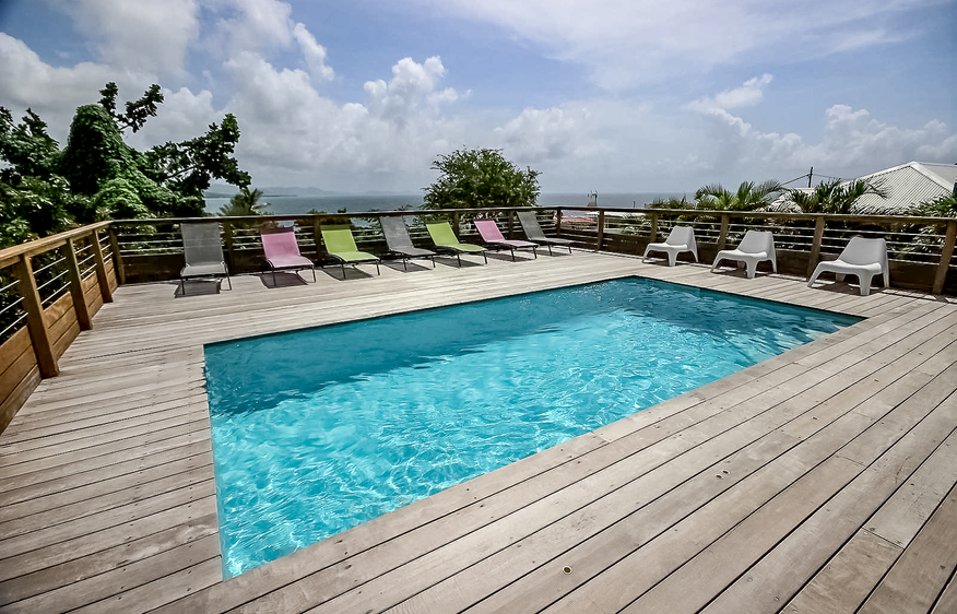 Location villa martinique villa corossol piscine - Location villa martinique piscine ...