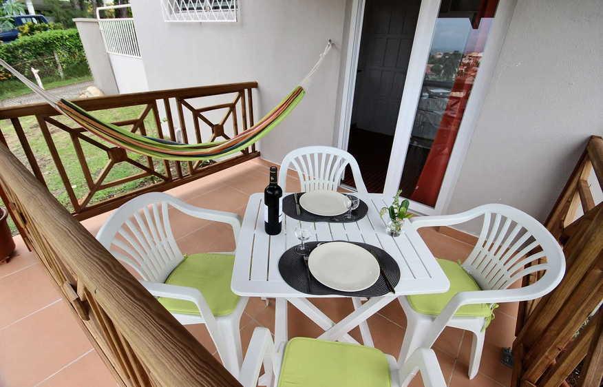 location Studio Rémora Trois-Ilets Martinique