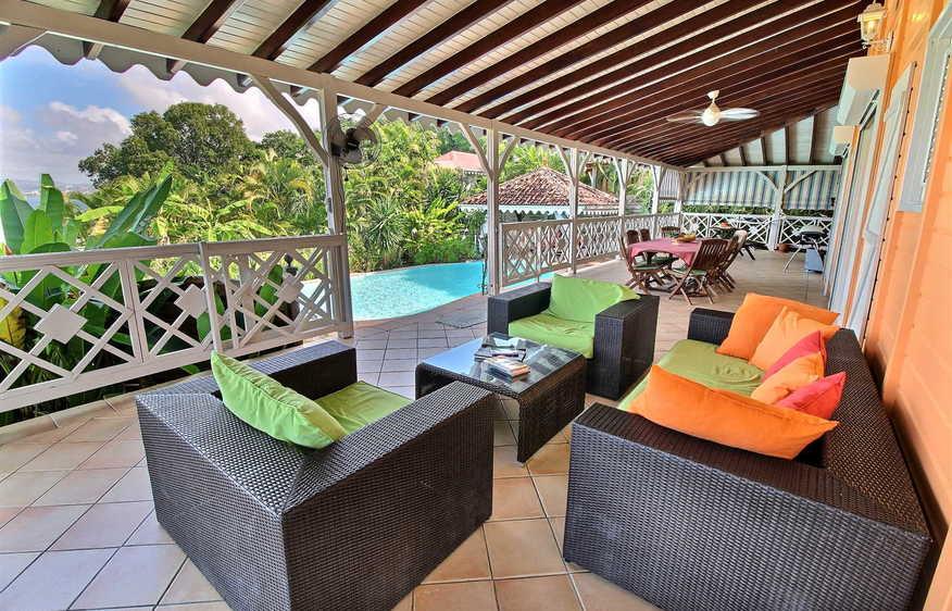 location Villa Indigo troisilets martinique