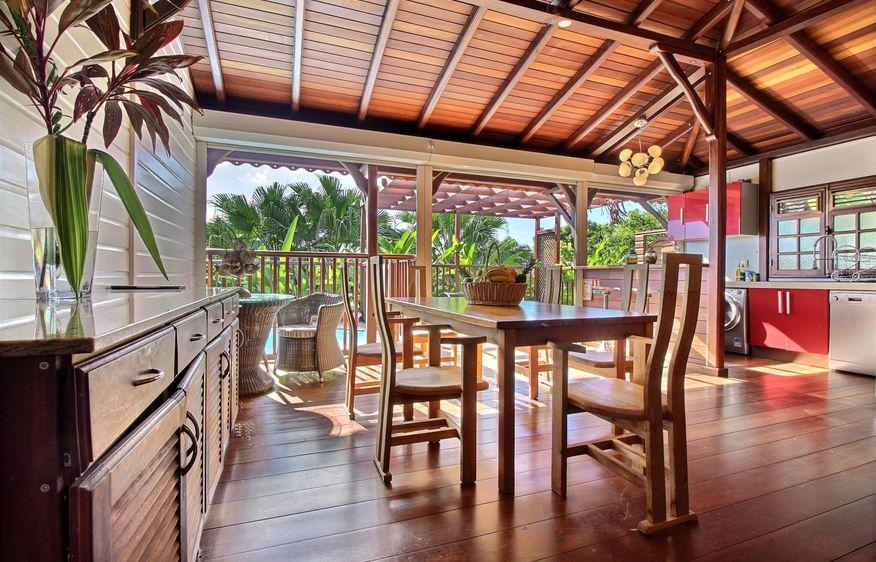 location Villa Breeze Vieux-Habitants Guadeloupe
