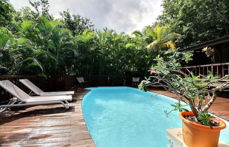 location Villa Nature Bay  Deshaies Guadeloupe