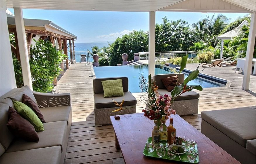 Luxury holiday rental with pool in Guadeloupe I Sea Pearl