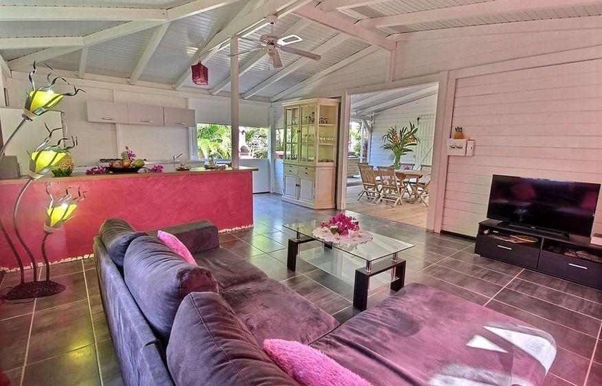 location Bungalow Hibiscus  Saint-François Guadeloupe