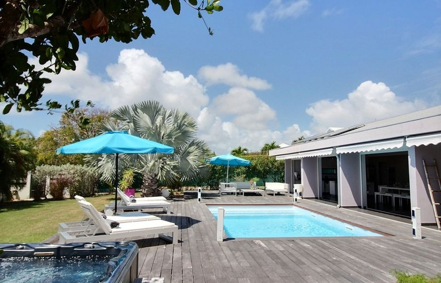 location Villa Indigo Saint-François Guadeloupe
