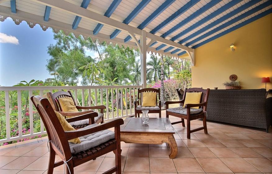 location Kaz' A Pierrette Anses d'Arlet Martinique