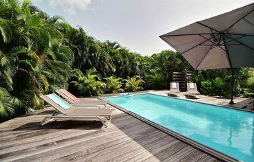 location Villa River Bouillante Guadeloupe
