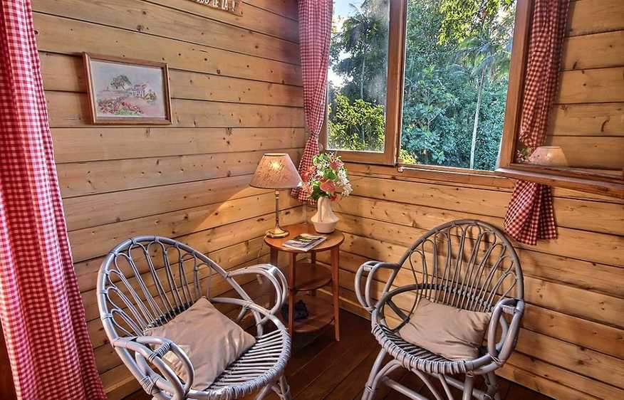 location Cottage Papangue Sainte-Suzanne Réunion