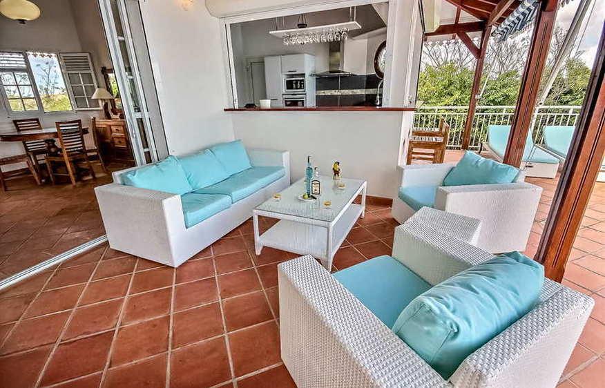 location Villa Open Sea Trois-Ilets Martinique