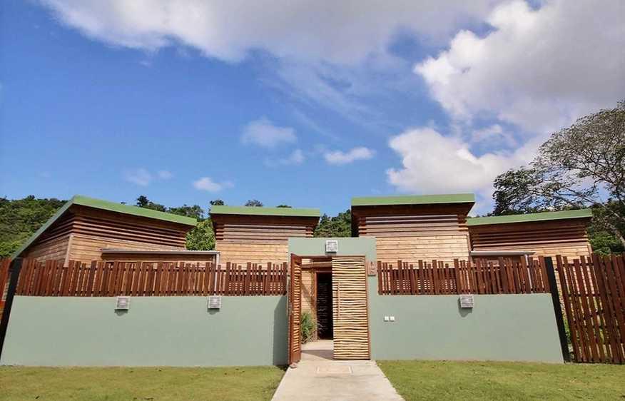 location Bungalow Yang Deshaies Guadeloupe