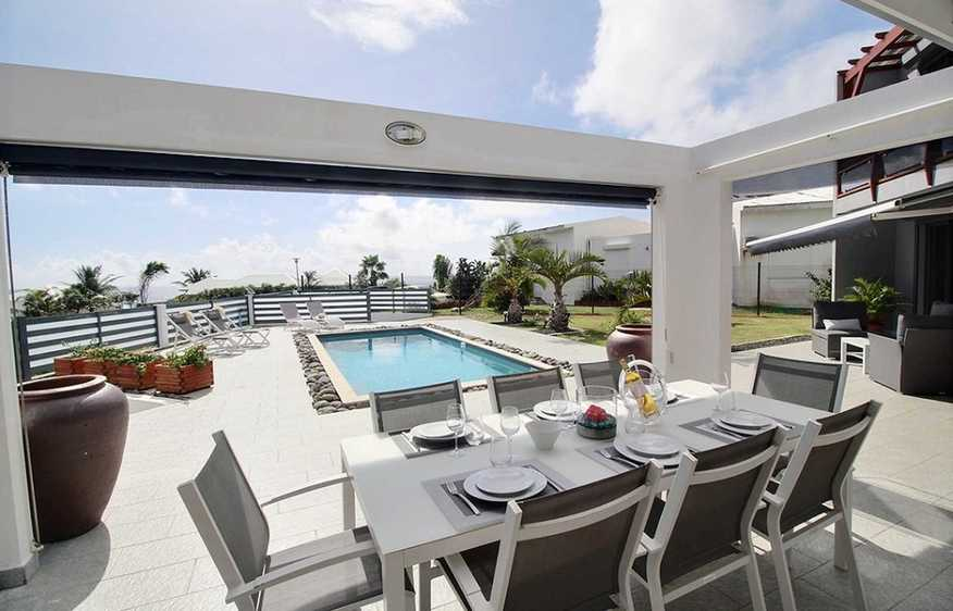 location Villa Diva Sainte-Anne Guadeloupe