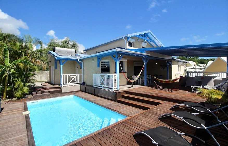 location Villa Mia Sainte-Anne Guadeloupe