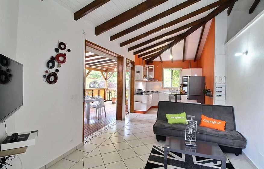 location Bungalow Ti Punch Pointe-Noire Guadeloupe