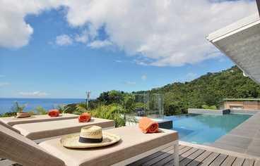 location Villa Tchantik Deshaies Guadeloupe
