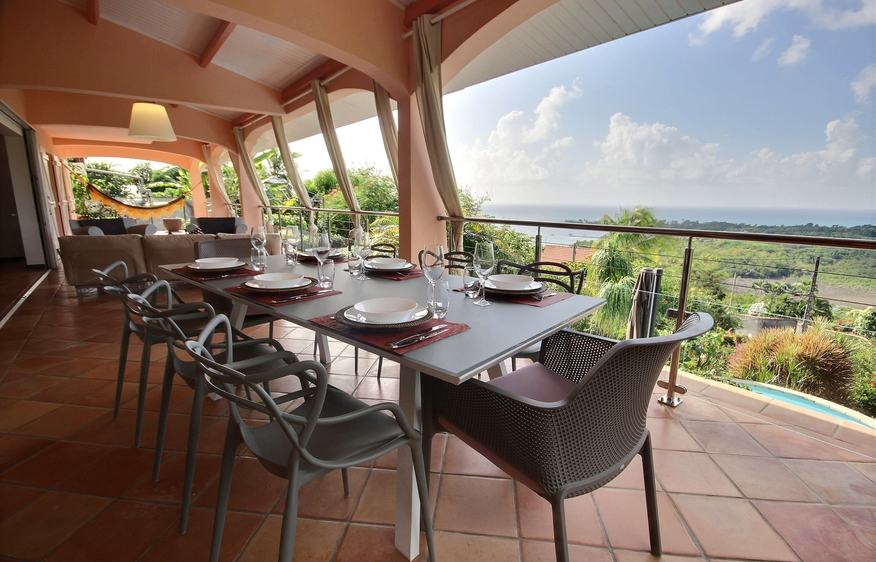 location Villa Luciole Diamant Martinique