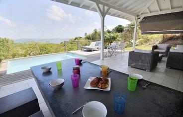 location Villa Aube François Martinique