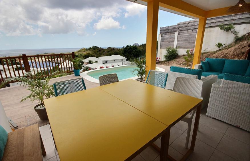 location Domaine Color Wind Diamant Martinique
