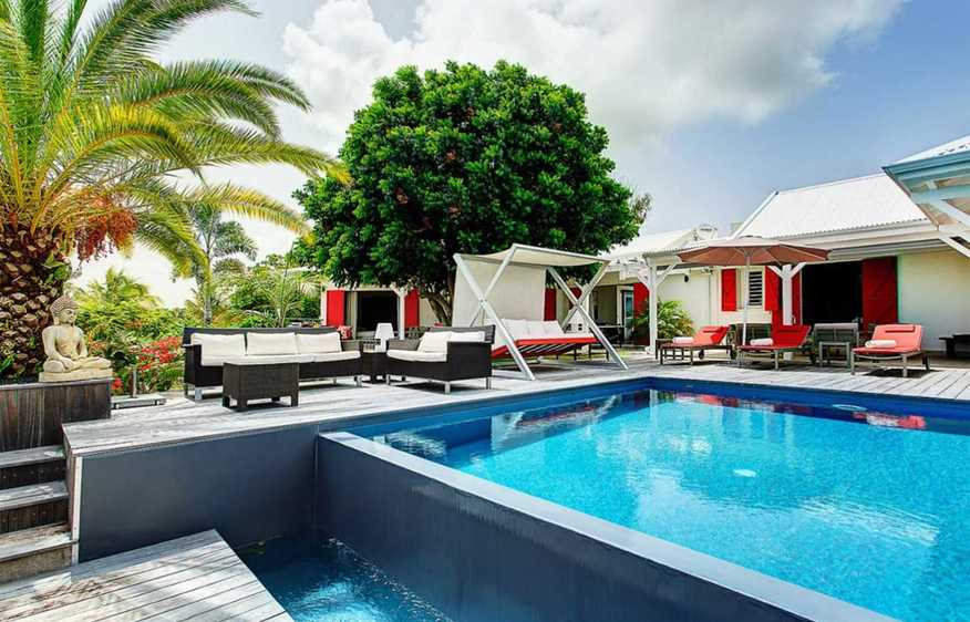 location Villa Red Sun Saint-François Guadeloupe