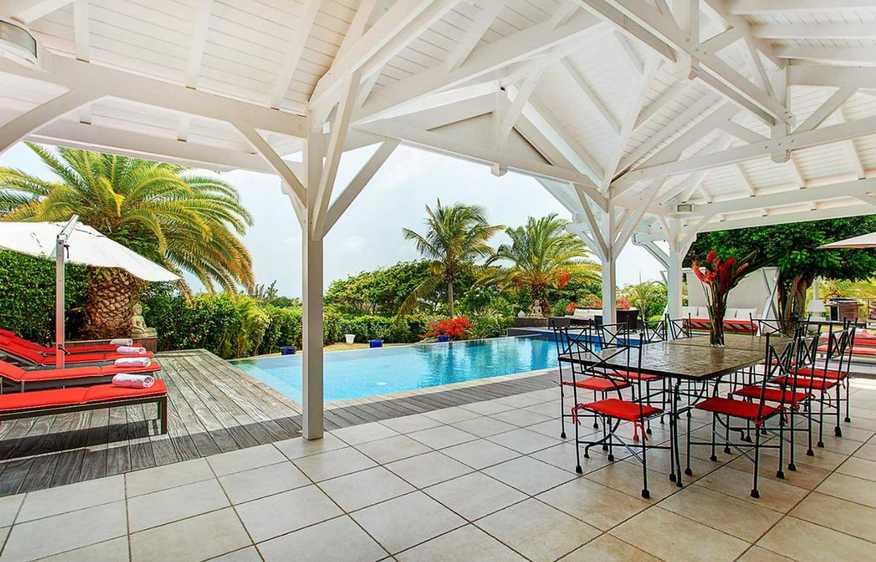 location Villa Red Sun Saint-François Guadeloupe