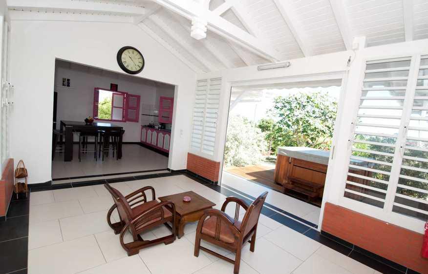 location Villa Cannella  Marie-Galante - Saint Louis Guadeloupe
