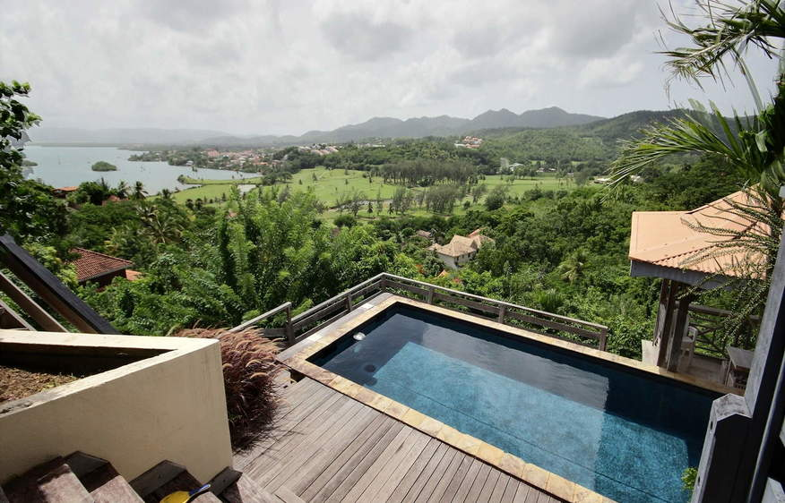 location Villa du Golf Trois-Ilets Martinique