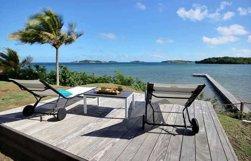 location Villa Fleur D'eau François Martinique