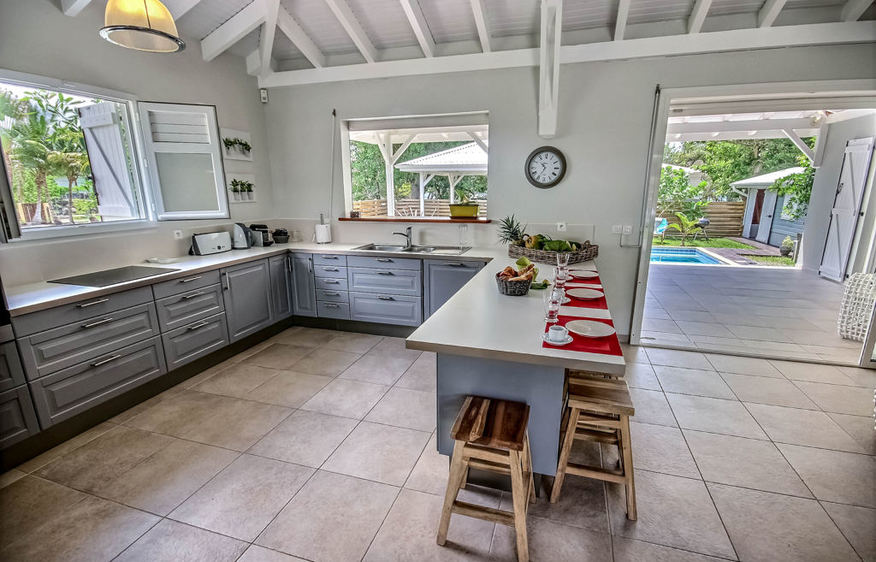 location Villa Passiflor Diamant Martinique