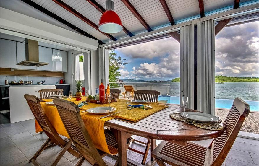location Villa Tangara Trois-Ilets Martinique