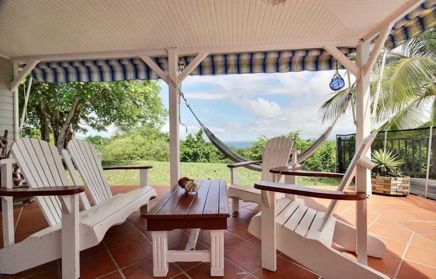 location Villa Baie Sauvage Trinité Martinique