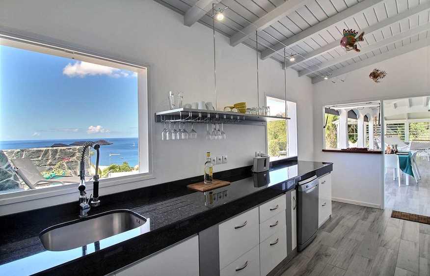 location Villa Heliconia Bouillante Guadeloupe