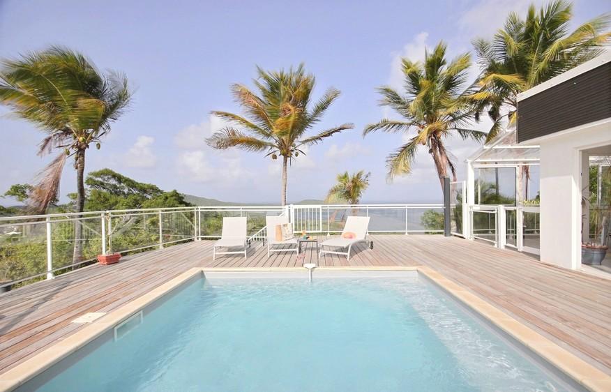 location Villa Vert Azur Trinité Martinique