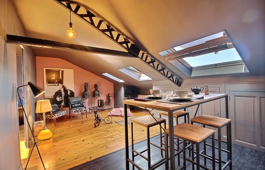 location Appartement Le boudoir Lyon 7ème Lyon
