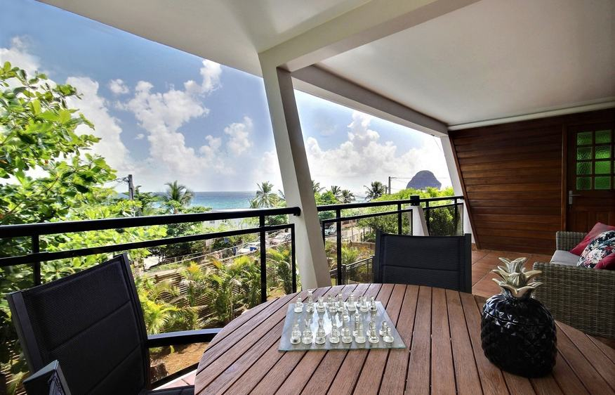 location Villa Kaléna Diamant Martinique