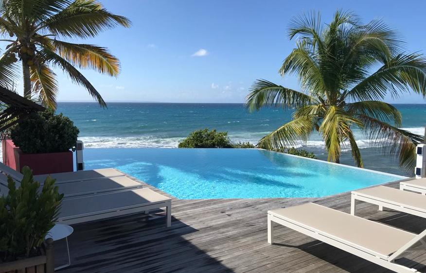 location Villa Sea Front Saint-François Guadeloupe