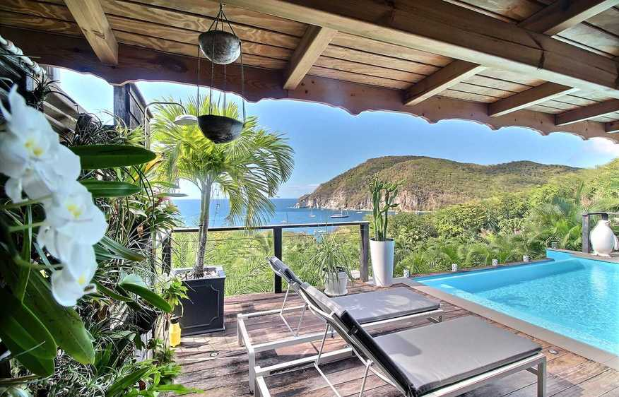 location Villa Escape Deshaies Guadeloupe
